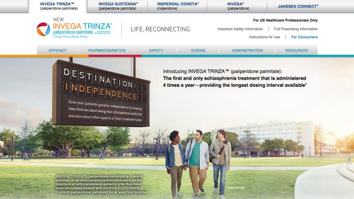 HCP Site for Invega Trinza