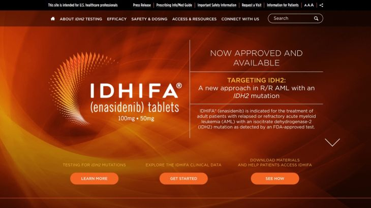 Idhifa HCP Homepage Screenshot