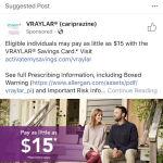 Paid Social Facebook Ad in Pharma Space 1