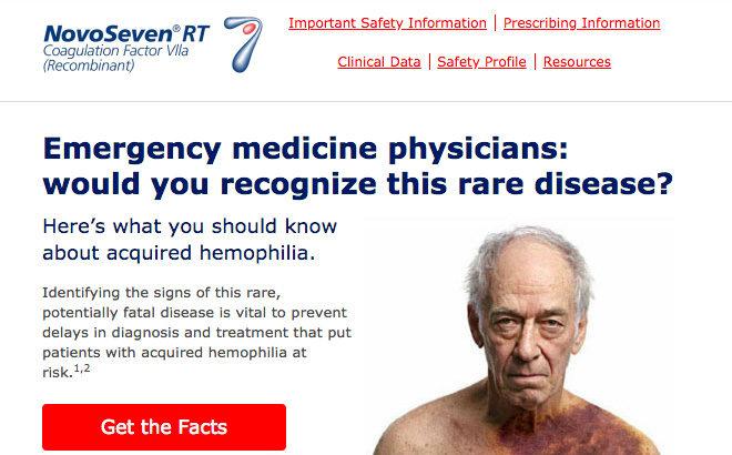 Pharma Email to Hemophilia HCPs