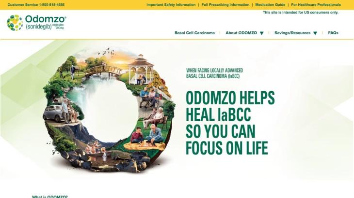 Life Sciences Patient Website - Homepage