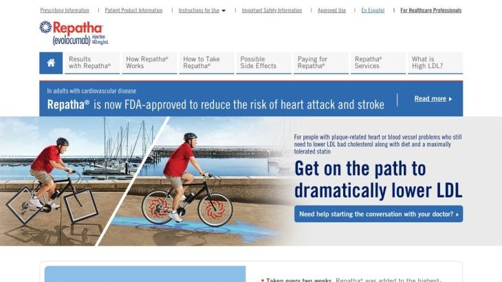 Pharma Rx Website Example - Home