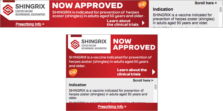 Vaccine Banner Ad for Healthcare Providers