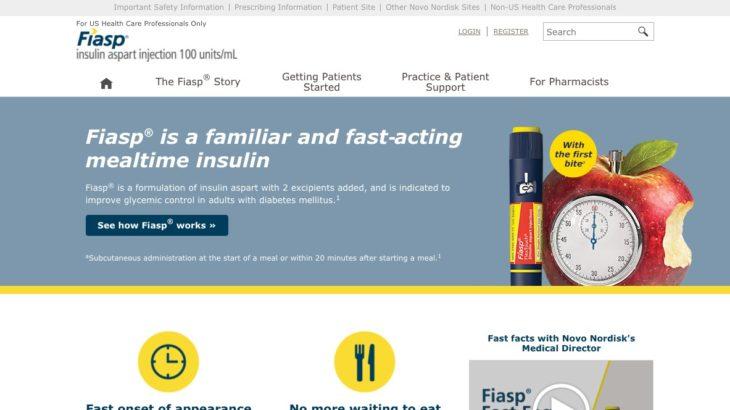 Diabetes Drug Website - Home