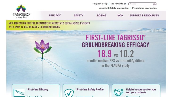Oncology HCP Website - New Indication - Home