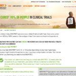 Cure Treatment Website for Patient - Treatment