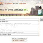 Cure Treatment Website for Patient - FAQ About Disease