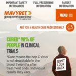 Cure Treatment Website for Patients - Treatment (Mobile)