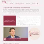 Treating TTP (Patient Site)