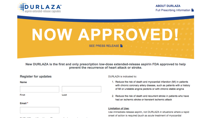Now Approved Page