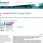 Internal Page on HCP Site