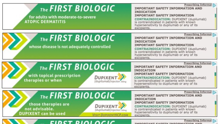 HCP Banner Ad for Dupixent