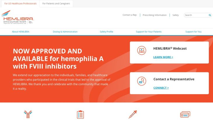 HCP Now Approved and Available Website: Homepage